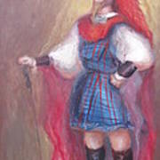 Guard Stance Art Print