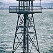 Guard Tower Alcatraz Art Print
