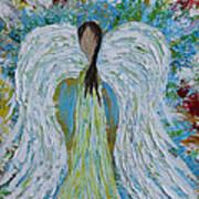 Guardian Angel V Art Print