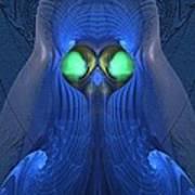 Guardian Of Souls - Surrealism Art Print