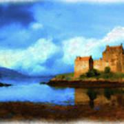 Guardian Of The Loch Art Print