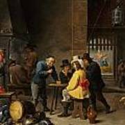 Guardroom With The Deliverance Of Saint Peter Art Print