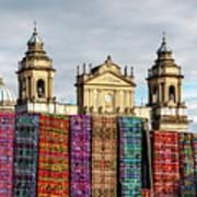 Guatemala City Cathedral Art Print