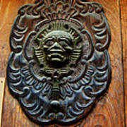 Guatemala Door Decor 1 Art Print