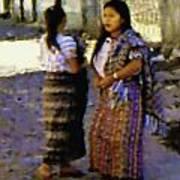 Guatemalan Girls Art Print