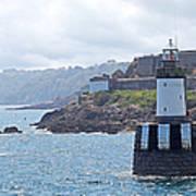 Guernsey Lighthouse Art Print