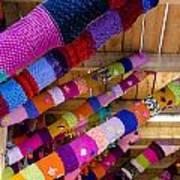 Guerrilla Knitting Art Print