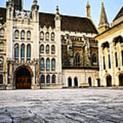 Guildhall Building And Art Gallery Art Print by Elena Elisseeva