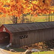 Guilford Vermont Covered Bridge Art Print