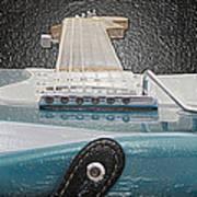 Guitar Art Art Print