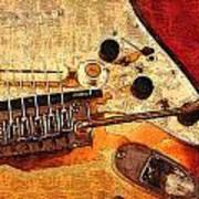 Guitar Fender Art Print