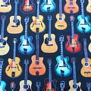Guitar Heaven Art Print