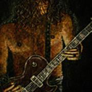 Guitar In The Zone Art Print