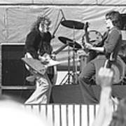 Guitar Jam At Day On The Green In Oakland 1976 Art Print