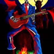 Guitar Man Upstairs Art Print