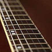Guitar Neck Art Print