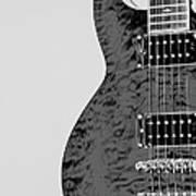 Guitar Pic 2 Art Print
