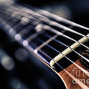 Guitar Strings Art Print