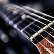 Guitar Strings Art Print by Stelios Kleanthous