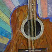 Guitar Sunshine Art Print by Michael Creese