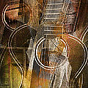 Guitar Works Art Print