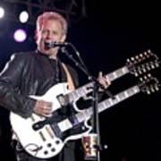 Guitarist Don Felder Art Print