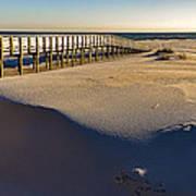 Boardwalk To The Gulf  Art Print