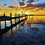 Gulf Coast Sunset Art Print