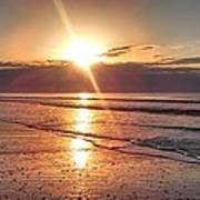 Gulf Sunrise Art Print
