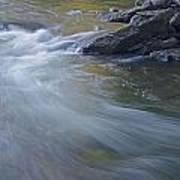 Gull River In Fall Art Print
