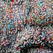 Gum Face  Art Print
