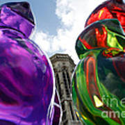 Gummy Bears In Paris Art Print