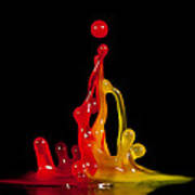 Gummy Drops Art Print