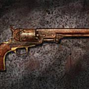 Gun - Colt Model 1851 - 36 Caliber Revolver Art Print