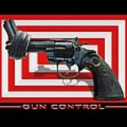 Gun Control Art Print