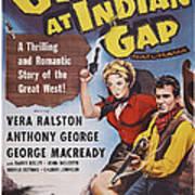 Gunfire At Indian Gap, L-r Vera Art Print