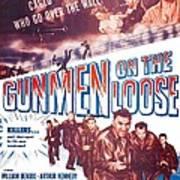 Gunmen On The Loose, Us Poster, William Art Print