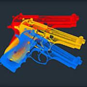 Guns Art Print