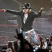 Guns N' Roses Art Print