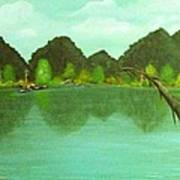Guntersville Lake Art Print