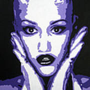 Gwen Stefani Art Print by Venus