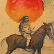 Gypsi Indian Art Print