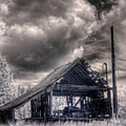 Gypsy Bay Road Lumber Mill 3 Art Print