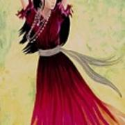 Gypsy Dancer Art Print