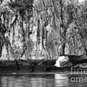 Ha Long Bay Rock I Art Print