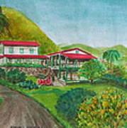 Hacienda Gripinas Old Coffee Plantation Art Print