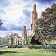 Hadlow Tower Art Print