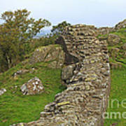 Hadrian's Wall Near Walltown Quarry Art Print