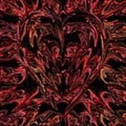 Haemorrhage  Art Print by Anthony Bean