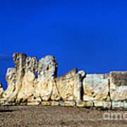 Hagar Qim Stone Temple, Malta Art Print